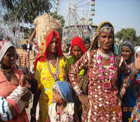 Rajasthani Textiles and dresses